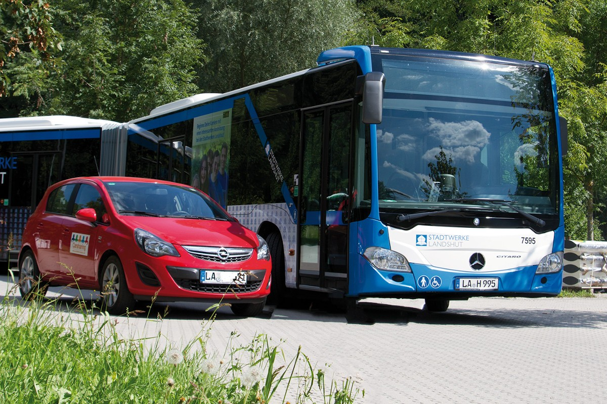 Carsharing in Landshut