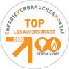 Siegel TopLokalversorger Strom und Gas 2020