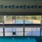 Hallenbad mit Sicht auf Sportbecken