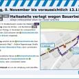 Linienführung Umleitung Stethaimerstraße