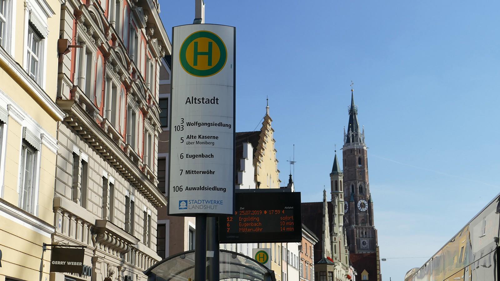 Bushaltestelle Altstadt