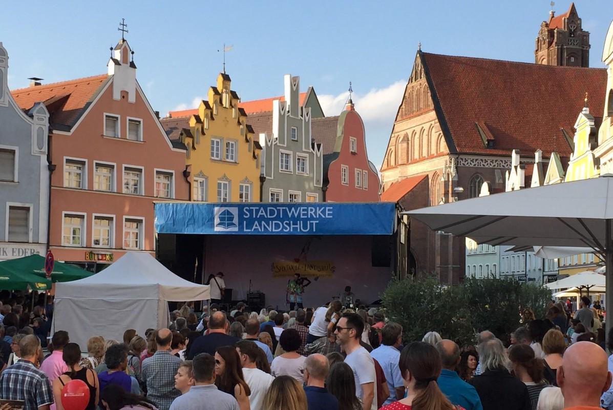 Sponsoring in Landshut in der Altstadt