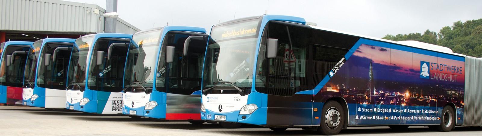 Mobilität durch Buslinien