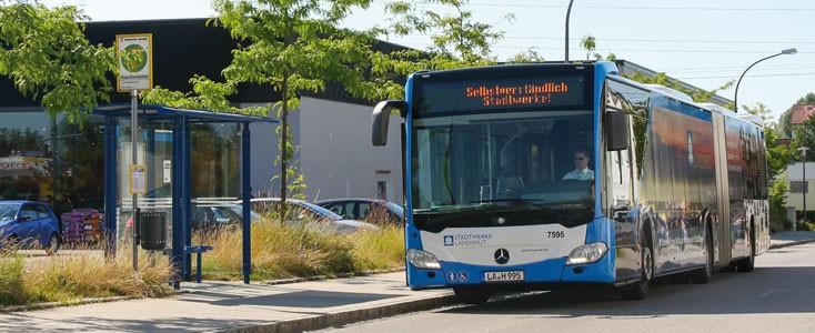 Mobilität in Landshut mit dem Stadtbus