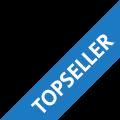 Banner mit Aufschrift Topseller